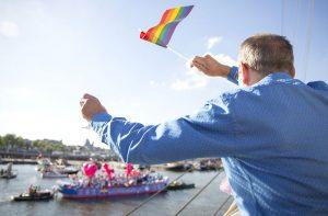 Celebraciones del Orgullo Gay en Amsterdam
