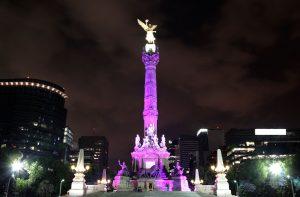 Celebraciones del Orgullo Gay en Mexico en la Plaza del Zócalo
