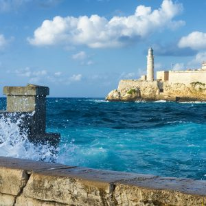 Paisaje marítimo de Cuba