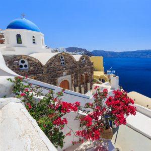 Santorini, Grecia