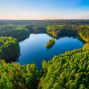 Parque Nacional Narachanski en Bielorruisa