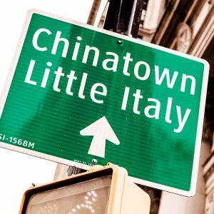 Chinatown y Little Italy, Nueva York
