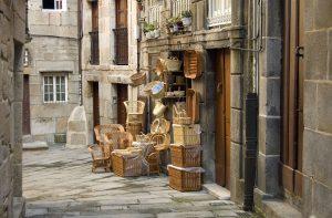 Tienda artesanal, Casco Vello, Vigo