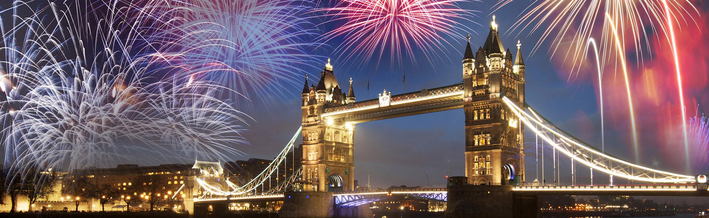 Londres fuegos artificiales
