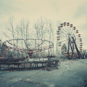 Ciudad abandonada de Pripyat, Ucrania