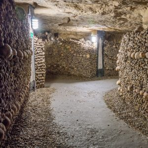 Catacumbas de París, Francia