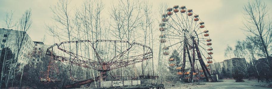 Parque de atracciones abandonado en Pripyat, Ucrania