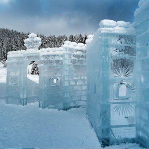 Hotel de hielo en Quebec