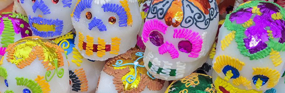 Calaveras típicas mexicanas