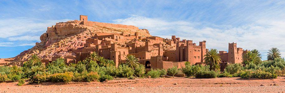 Kasbahs en Marruecos