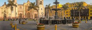 Ciudad de Lima. Peru