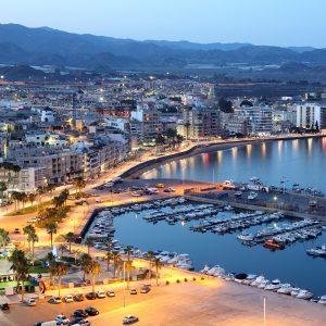Vistas de Águilas, Murcia