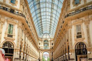 Galería Víctor Manuel II en Milán