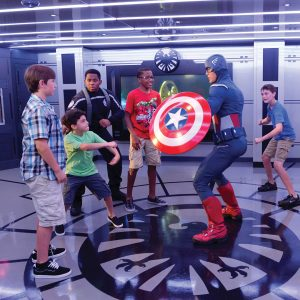 Capitán América Disney Cruise Line