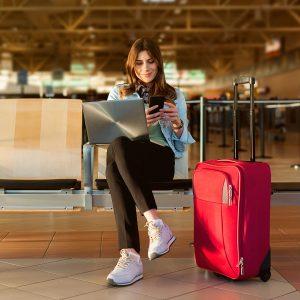 Lectura en el Aeropuerto