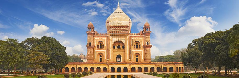 Nueva Delhi: tumba humayun