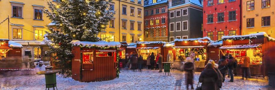 Mercadillo de Navidad en Estocolmo