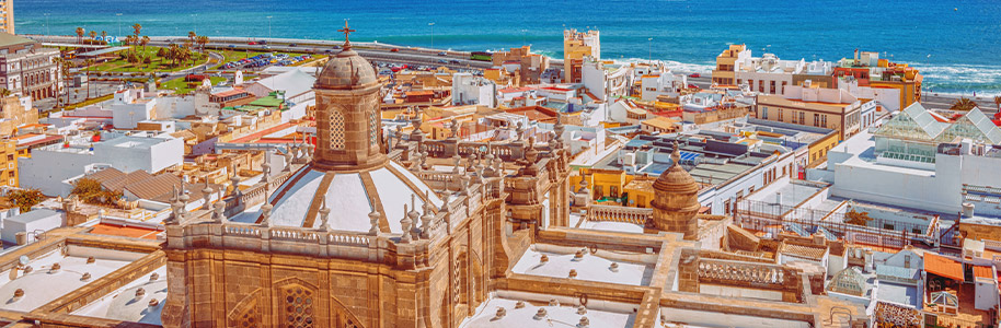 Vista de Gran Canaria
