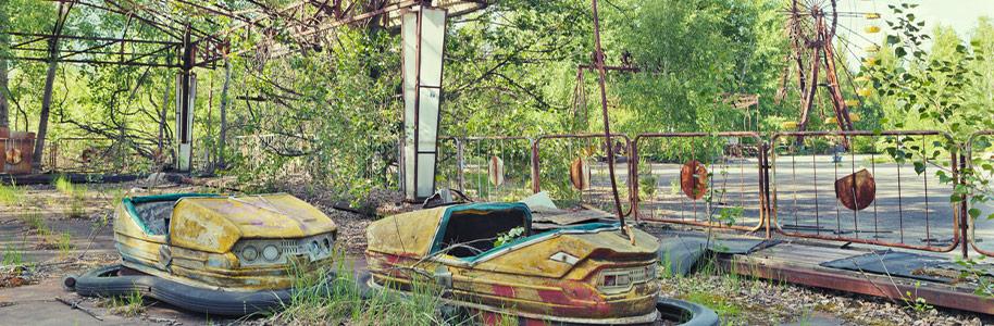 Parque de atracciones abandonado en Chernobyl