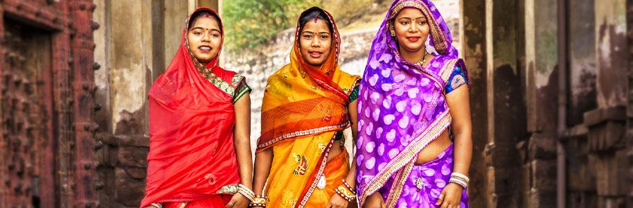 Acción de gracias en India
