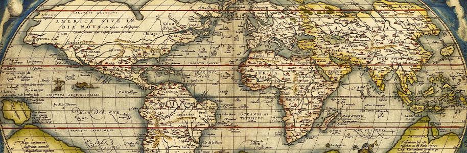 Mapa primera vuelta al mundo