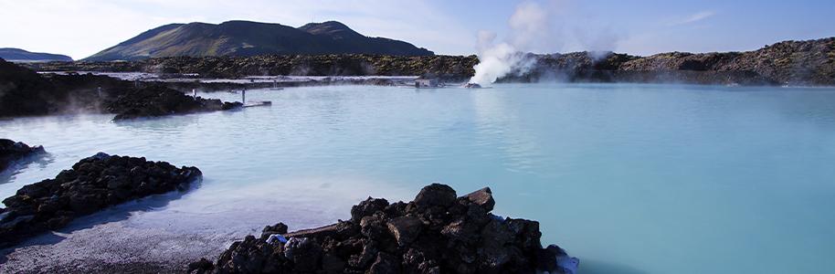 Aguas geotérmicas en Islandia