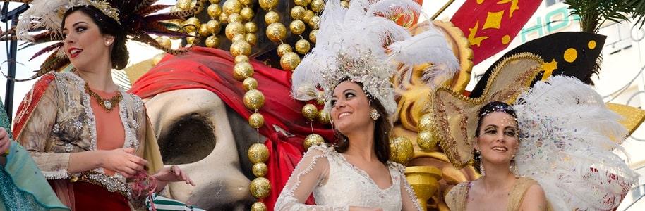 Fiesta en el Carnaval de Cádiz