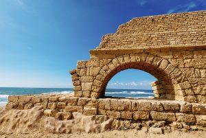 La playa de Caesarea