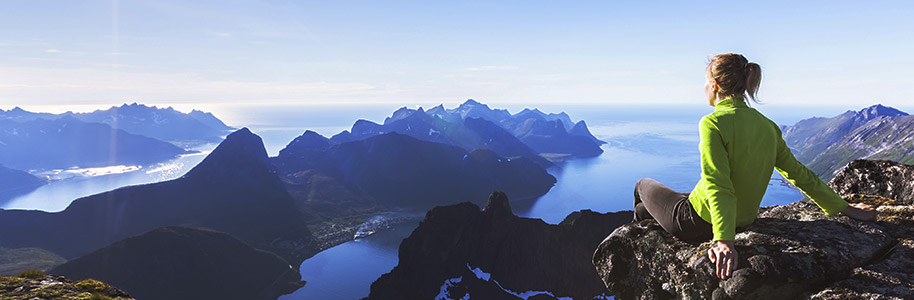 Acantilados en Noruega