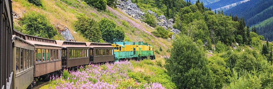 White Pass Train Yukon