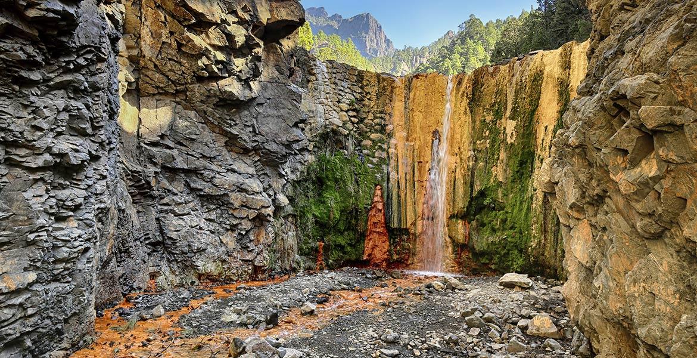 La Palma cascada