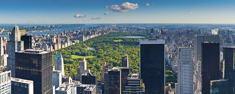 Vista de Central Park desde Top of the Rock