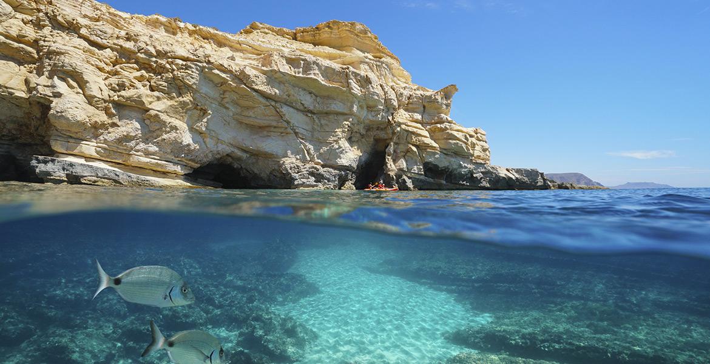 Costa de Almeria. Cabo de Gata