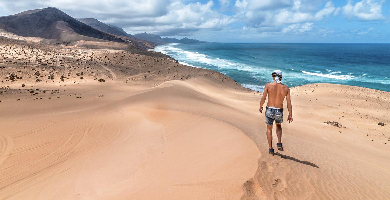 Fuerteventura playa Cofete