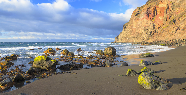 La Gomera playa del inglés
