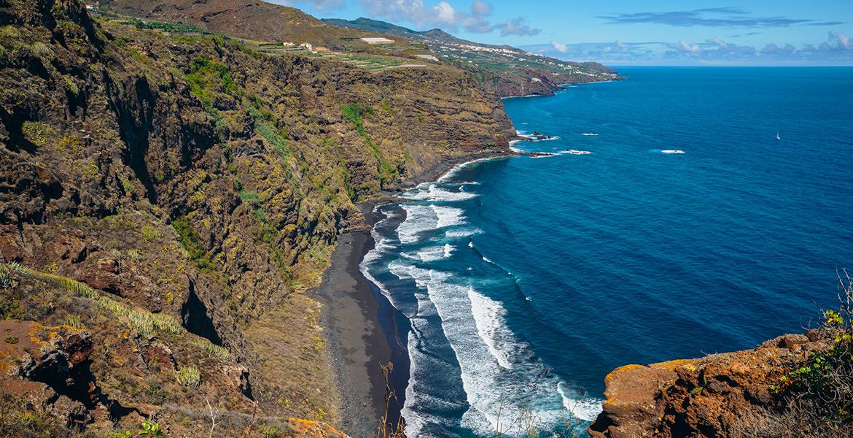 La Palma playa de nogales