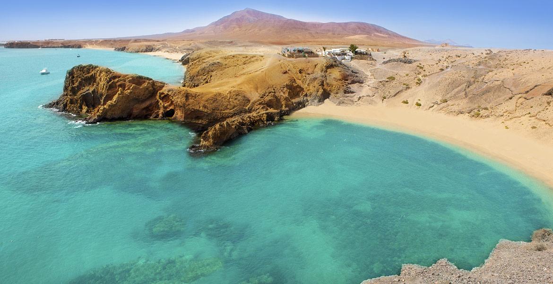 Lanzarote. Playa de Papagayo