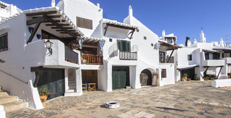 Menorca poblado de Benibeca