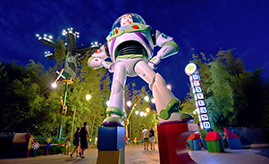 Entrada a Toy Story Playland