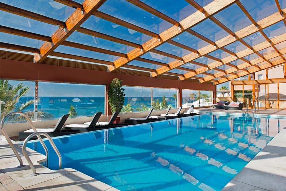 Elba estepona gran hotel thalasso spa hotel en estepona viajes el corte ingl s - Piscinas cubiertas malaga ...
