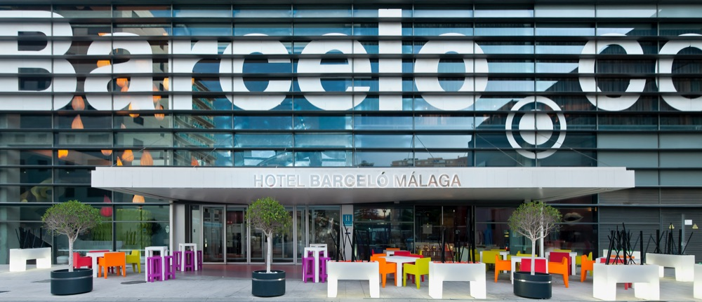 Barcel m laga hotel en m laga viajes el corte ingl s for Hotel diseno malaga