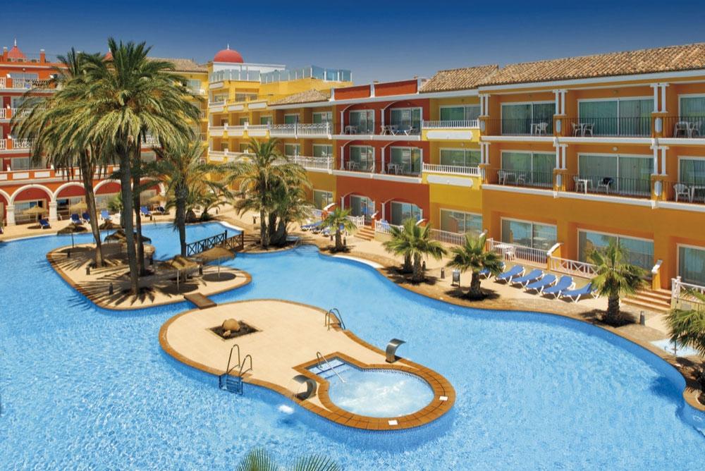 Hoteles con caja fuerte en costa de almer a espa a for Hoteles con piscina en almeria