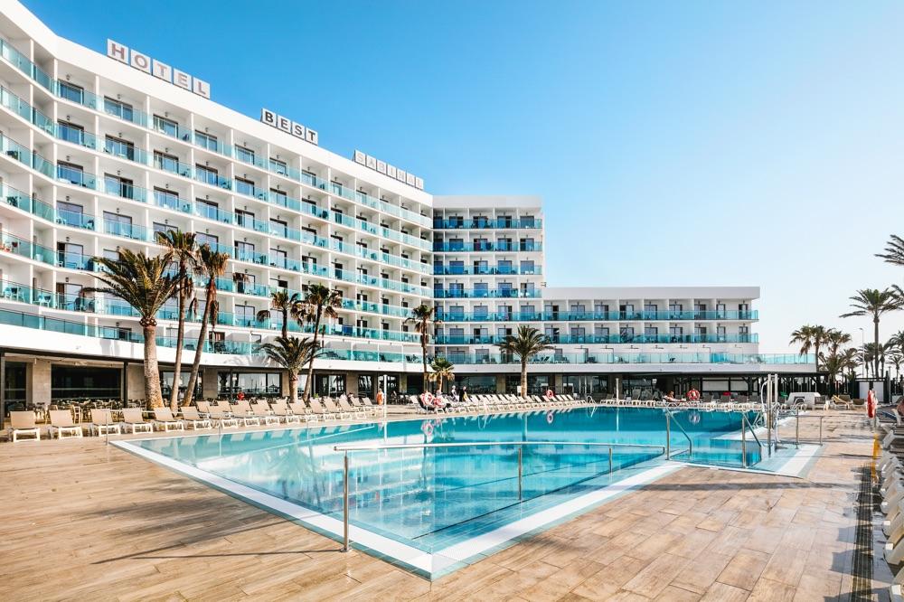Hoteles con piscina para ni os en costa de almer a espa a for Piscinas el corte ingles 2017