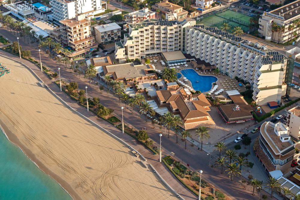 Hoteles 5 estrellas en playa de palma espa a viajes el - Hoteles cinco estrellas en madrid ...