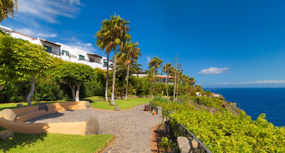 Hotel jard n tecina hotel en playa de santiago viajes for Jardin tecina gomera