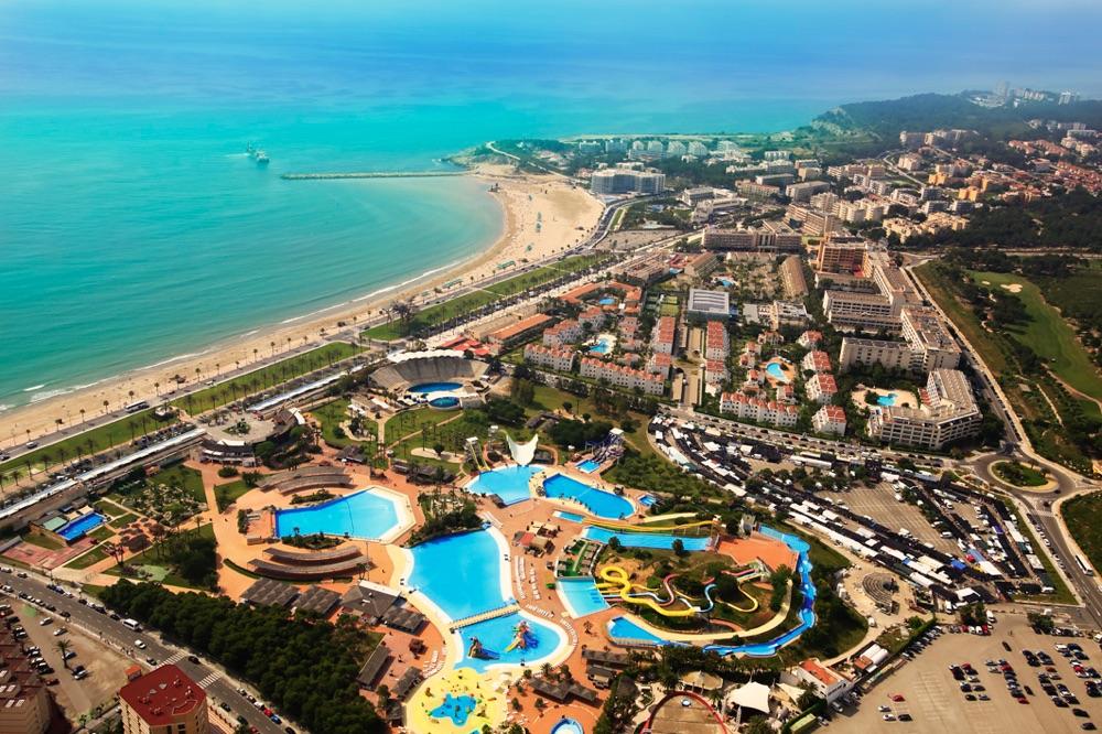 Hoteles con spa en costa dorada espa a viajes el corte for Hoteles en salou con piscina