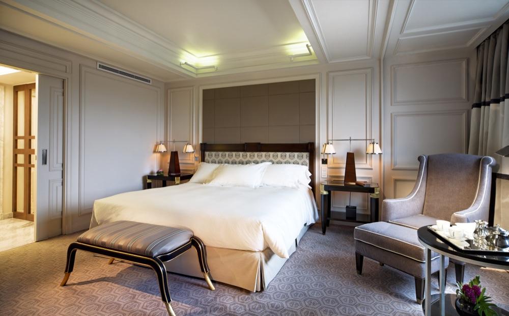 Hotel villa magna hotel en madrid viajes el corte ingl s for Habitaciones en madrid