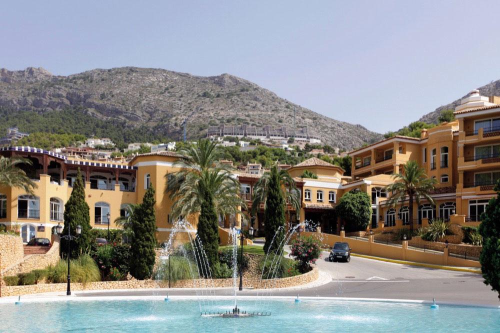 Marconfort altea hills hotel en altea viajes el corte - Altea alicante fotos ...