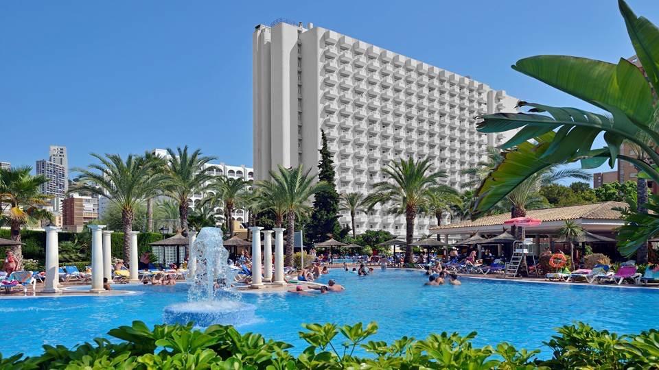 Sol pel canos ocas hotel en benidorm viajes el corte ingl s - Hoteles con piscina cubierta en benidorm ...