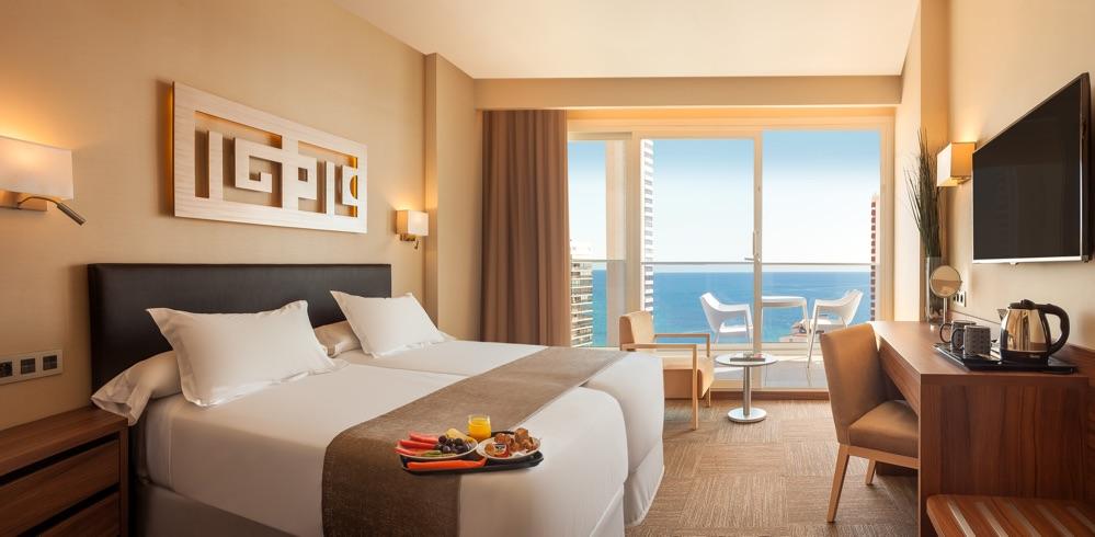 Hotel don pancho hotel en benidorm viajes el corte ingl s for Hoteles con habitaciones familiares en benidorm